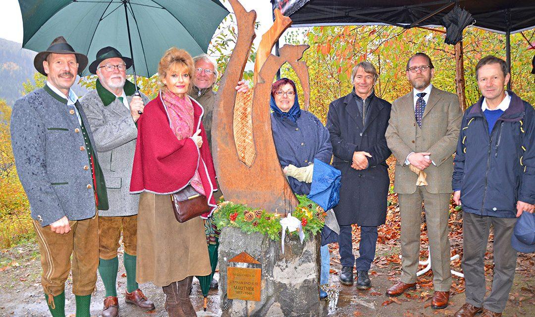 Gedenktafel in Trattenbach
