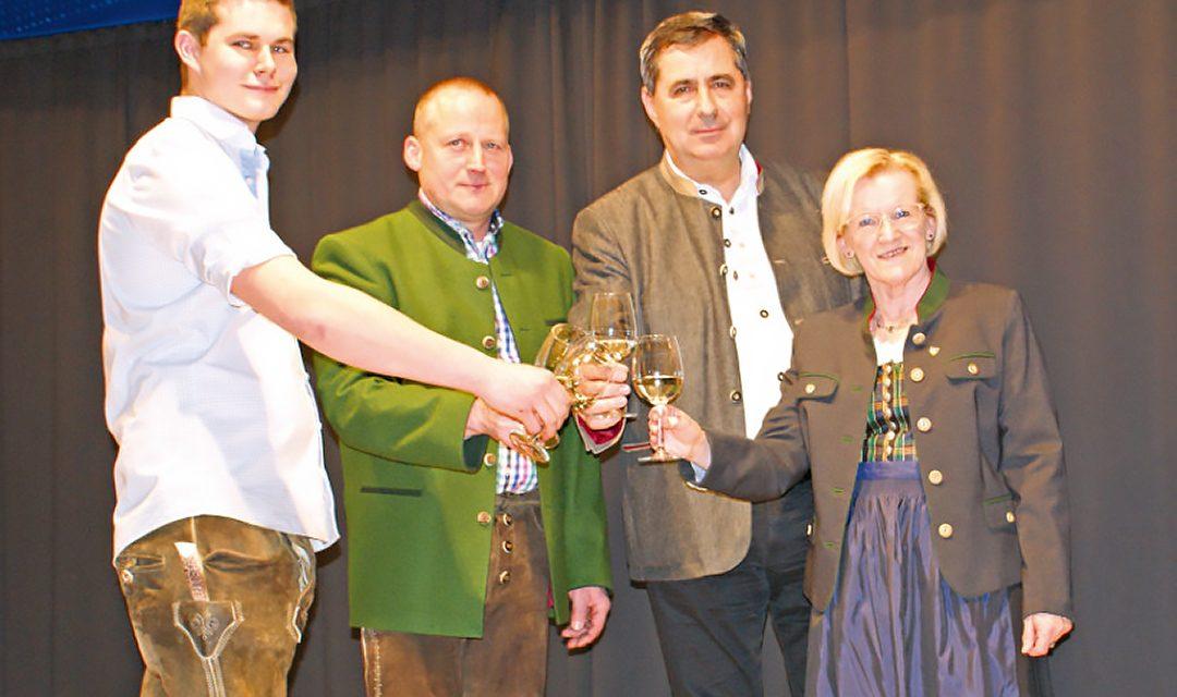 Gemeinsame Weinpräsentation in Katzelsdorf