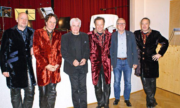 Frank Hoffmann zu Gast in Lanzenkirchen