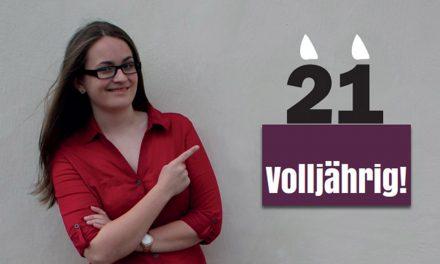 "Evelin Pichler: ""21 – Volljährig"""