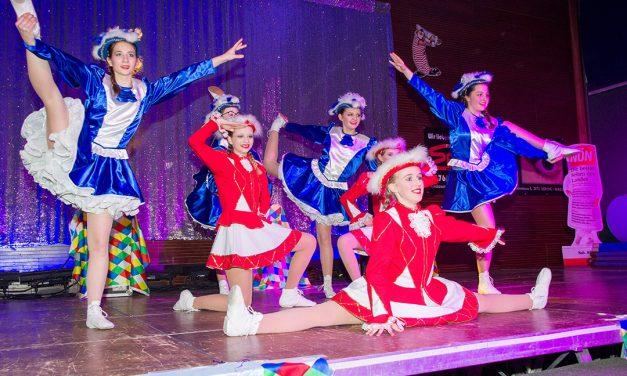 Auch ohne Fasching: Tanztage der Gardemädchen