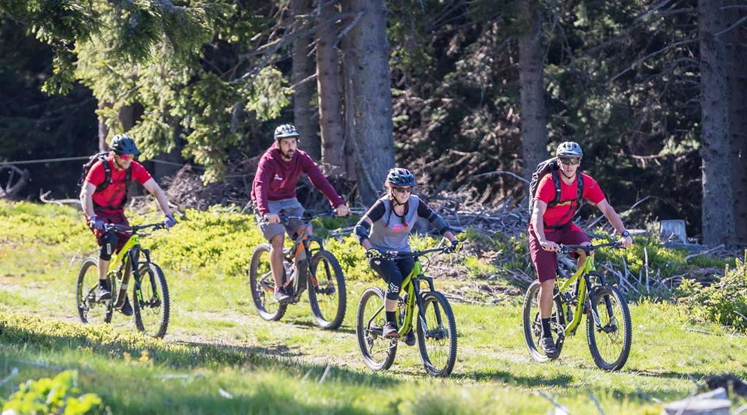 Auf dem Weg zur Bike-Region
