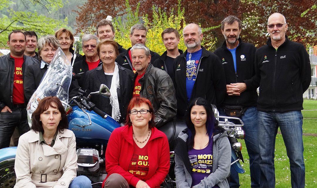 Moto Guzzi ist in Kirchberg Kult