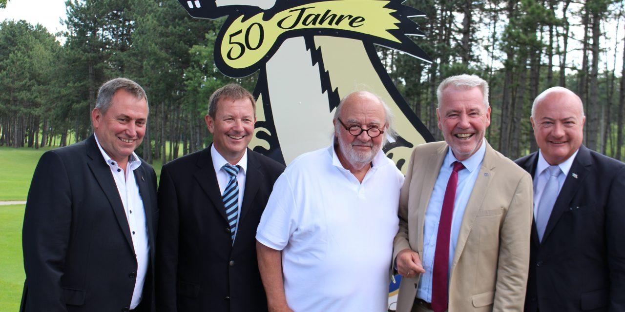 50 Jahre: ein Ziesel für den Golfclub