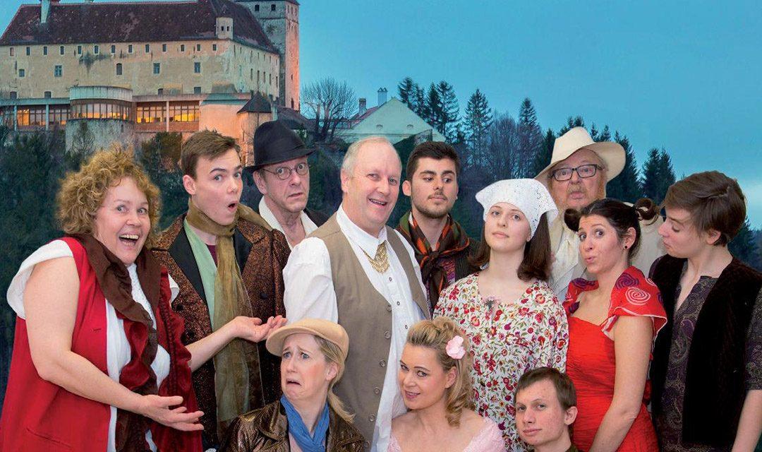 Theater: Comedienbande mit Krumbacher auf der Bühne