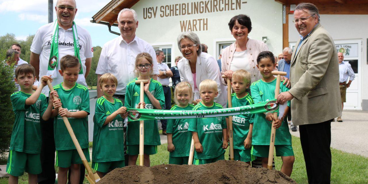 USV Scheiblingkirchen-Warth bekommt ein modernes Stadion