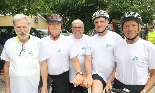 """Die """"Buckl-Biker"""" unterwegs nachBelgrad"""