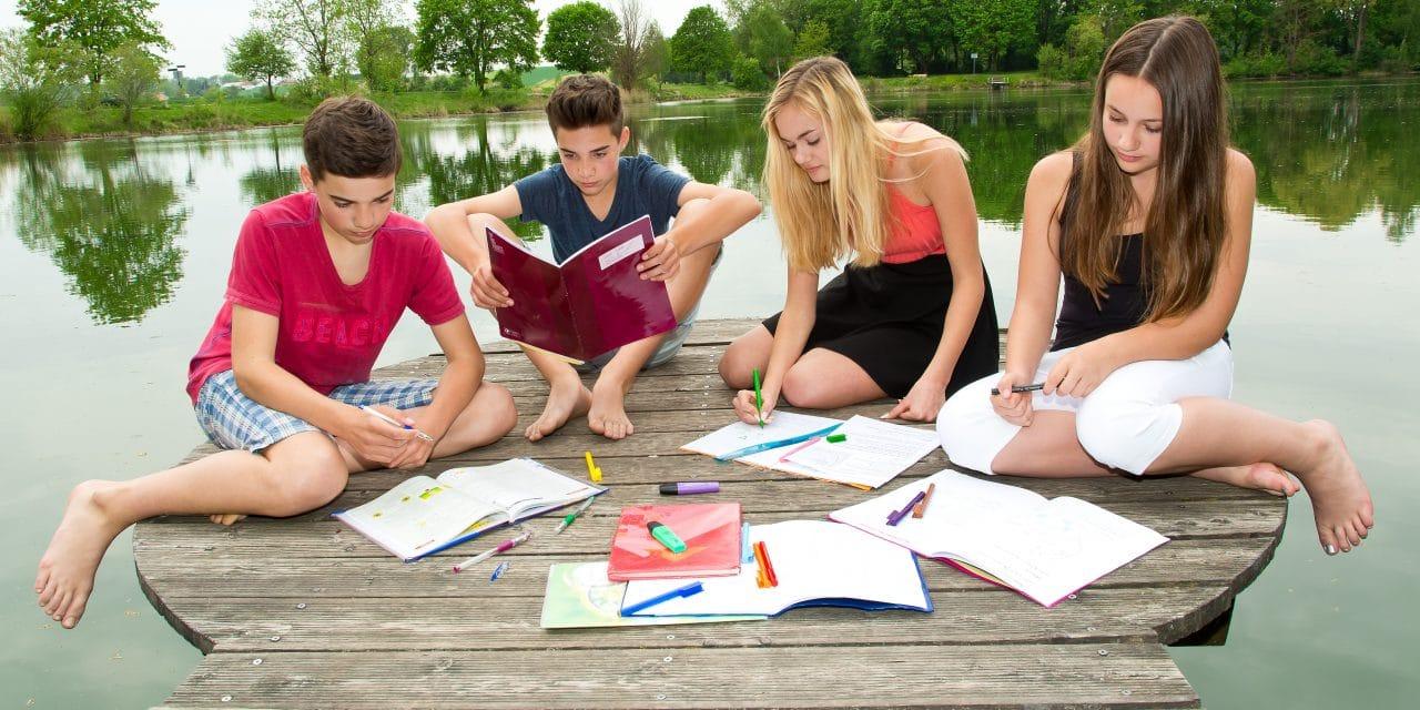 So klappt das Lernen auch in den Ferien