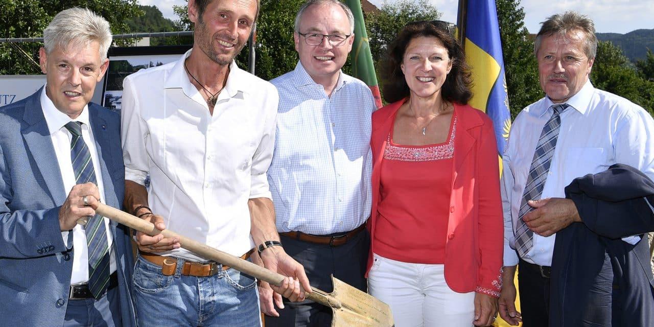 Grimmenstein: 1,8-Millionen-Investition in Hochwasserschutz