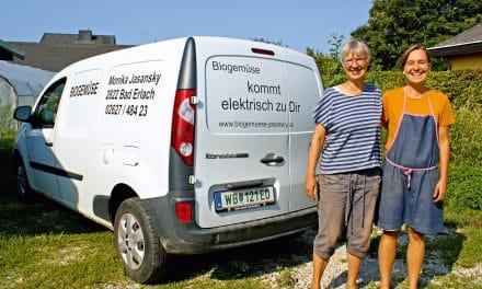 Bio-Gemüsegärtnerei setzt auf Elektro-Mobilität