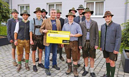 Otterthal: Spende für Hochwasseropfer