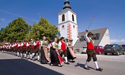 Bezirksmusikfest zum 170. Geburtstag