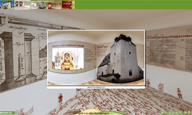 Virtueller Rundgang im Wehrkirchen-Museum