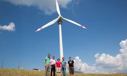 Lichtenegg: Windkraft als Besuchermagnet
