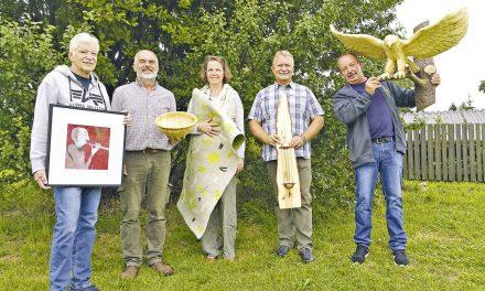 Fünf Künstler auf einen Streich bei den offenen Ateliers