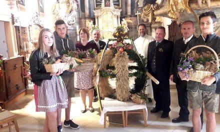 Gemeinde Zöbern feierte Erntedank