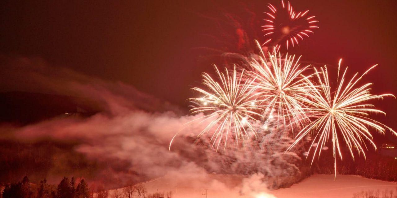 Feuerwerk mit Tradition in St. Corona