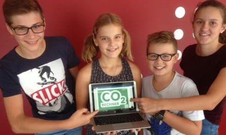 Scheiblingkirchner Schüler als Klimaforscher