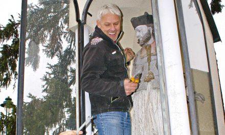 Bad Erlach: Nepomukstatue wird restauriert