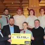 Über 13.000 Euro für Verein Lebenslicht