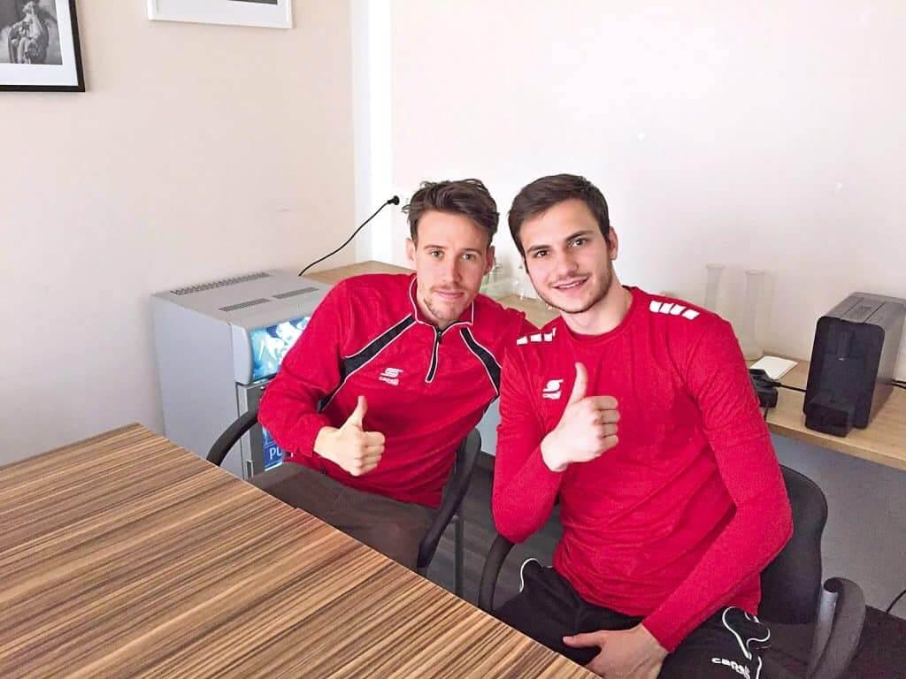 Filip Faletar und Mateo Panadic