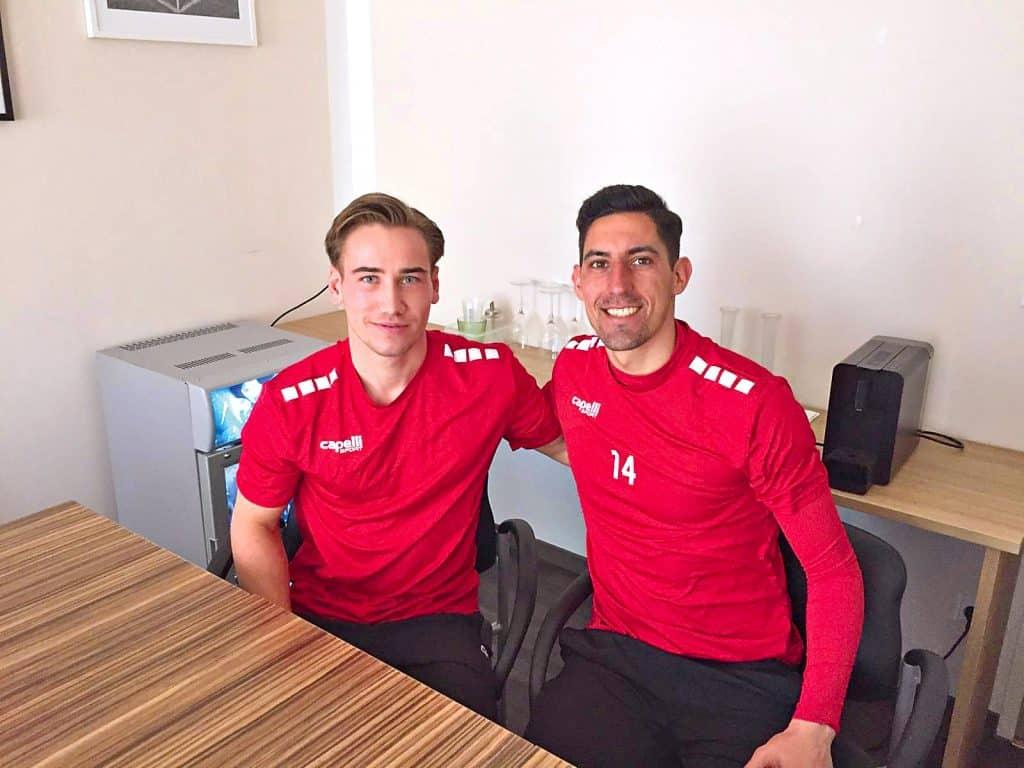 Simon Strauss und Alberto Prada-Vega