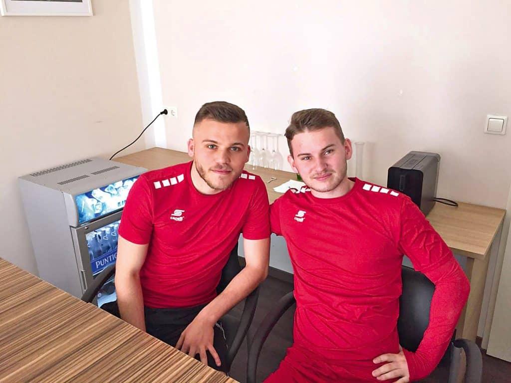 Volkan Akyildiz und Johannes Tartarotti