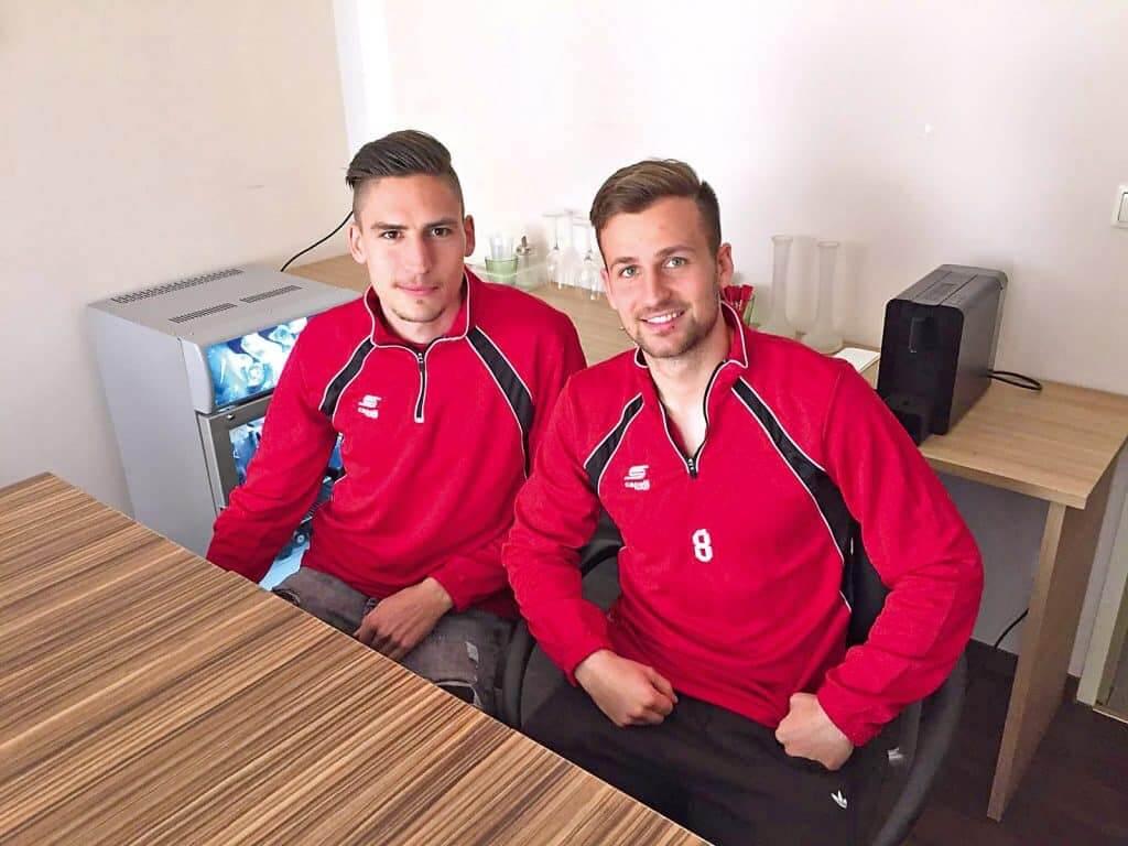 Alexander Siebeck und Nico Gorzel