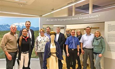 Reger Besuch im Pittener Regionsmuseum