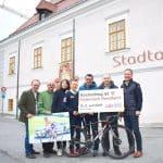 Radrundfahrt: Etappenstart in Kirchschlag