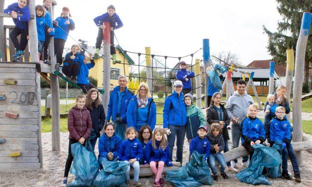 Freiwillige sorgen für saubere Gemeinden