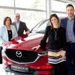 40 Jahre Mazda im Autohaus Hönigmann