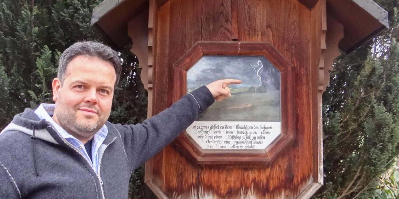 """Der Chef-""""Wetterfrosch"""" beim ORF"""