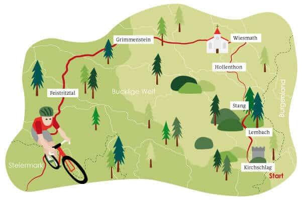 Radrundfahrt Karte