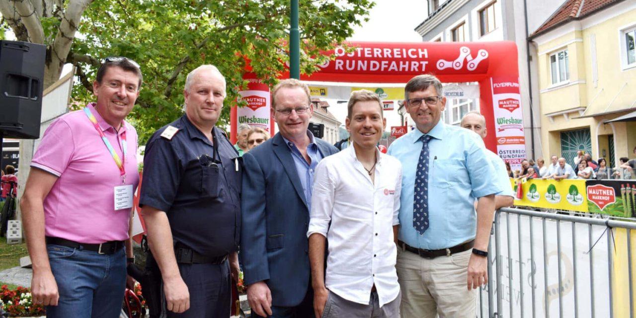 Radspektakel-Start in Kirchschlag