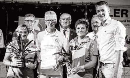 70 Jahre blau-weiße Familie in Kirchschlag