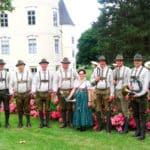 Edlitzer Bläser spielten beim Jagdhornfest
