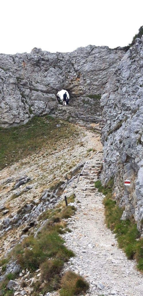 Aufstieg über Thörlweg