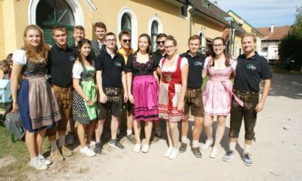 Bezirkserntedankfest  in Lanzenkirchen