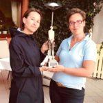 Hattrick für Golferin bei den Triad-Clubmeisterschaften