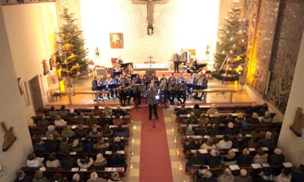 Blasmusik lädt zur Andacht am 4. Advent