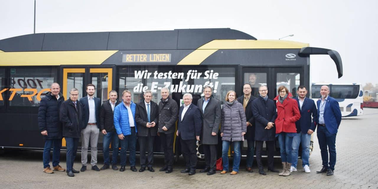 Elektrobus-Test im Bezirk Neunkirchen