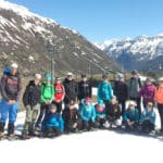 Schüler als Klimaforscher am Gletscher