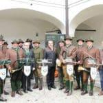 Jagdmusik im barocken Pfarrhof