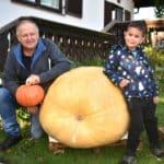 150-Kilo-Kürbis geerntet