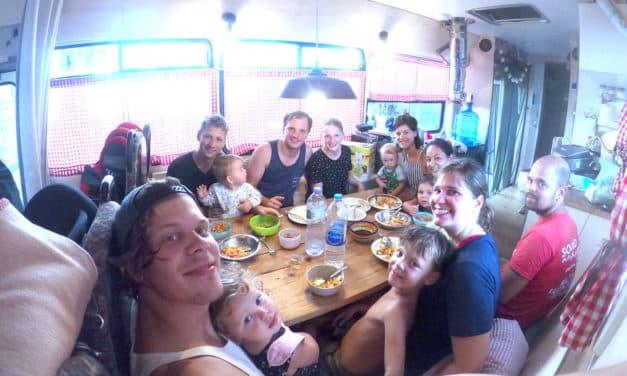 Asien mit dem Bus: Die Reise geht weiter