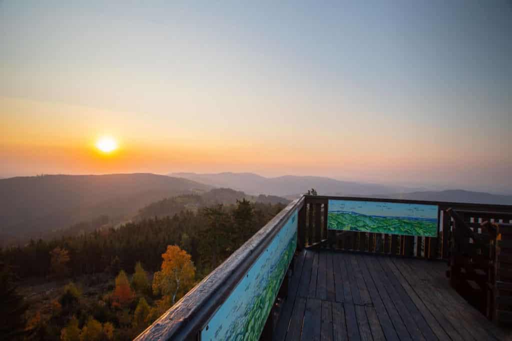 Sonnenuntergang hutwisch