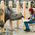 Der Zoo ist ihr schönstes Atelier