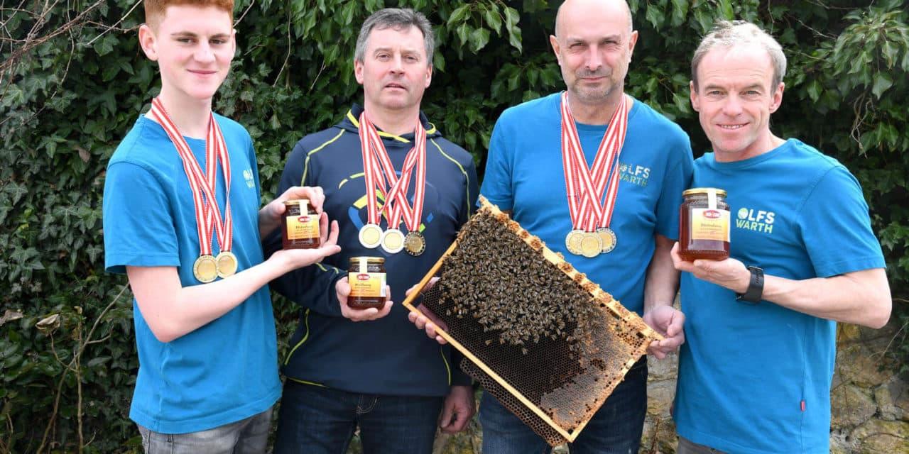 180 Bienenvölker erzeugen preisgekrönten Honig
