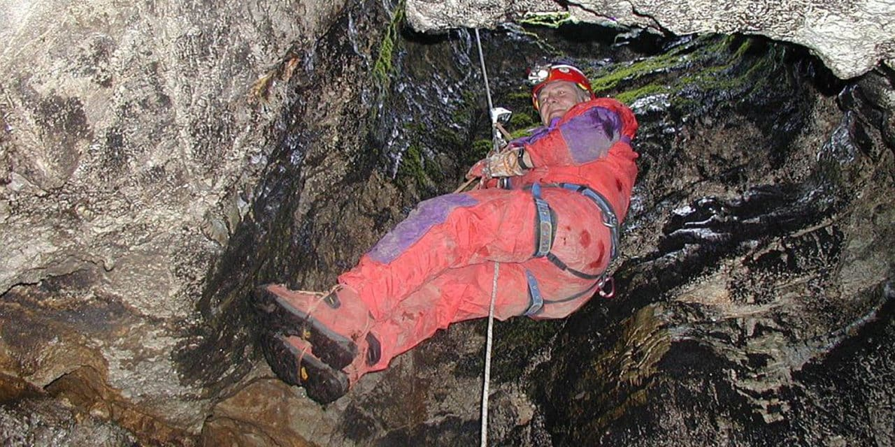Der Experte für heimische Höhlen